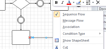 if you now look at the testexpression reveals that the new gluedshapes method as seen in my previous post listing connections in visio 2010 - Visio Bpmn Template