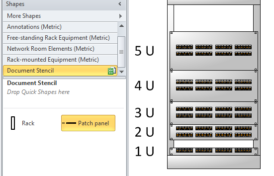 A Patch Panel That Can Be 1u Too Bvisual For People Interested