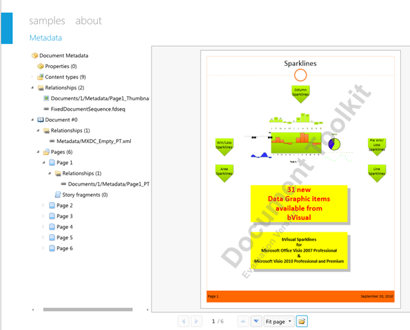 Viewing Pre-Visio 2010 Documents in Silverlight   bVisual