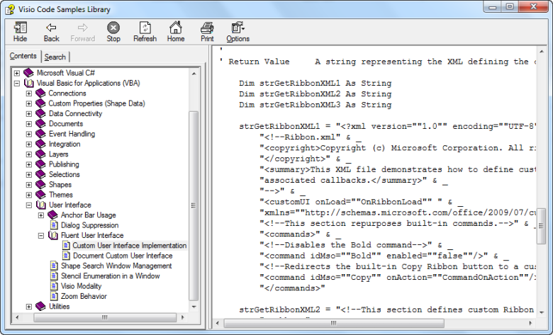 How to Run VBA Macros from a Ribbon Button in Visio 2010 | bVisual