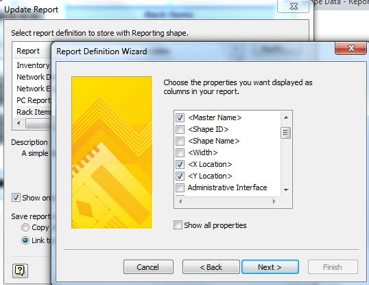 Changing Embedded Visio Report Column Headers   bVisual - for people