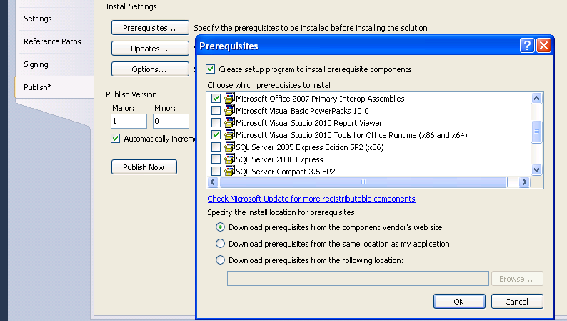 Blog archives profilessoft - Visual studio tools for office ...