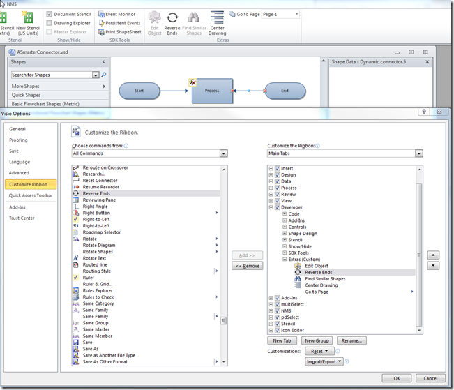 Adding More Smartness to Visio Connectors   bVisual - for
