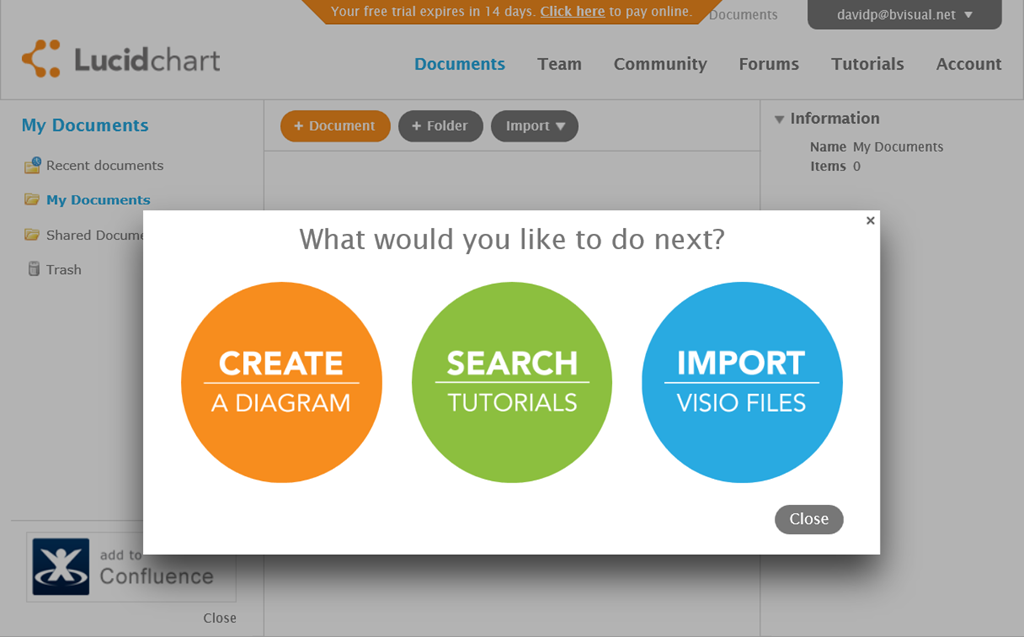 lucidchart can import visio files - Visio For Mac 2011