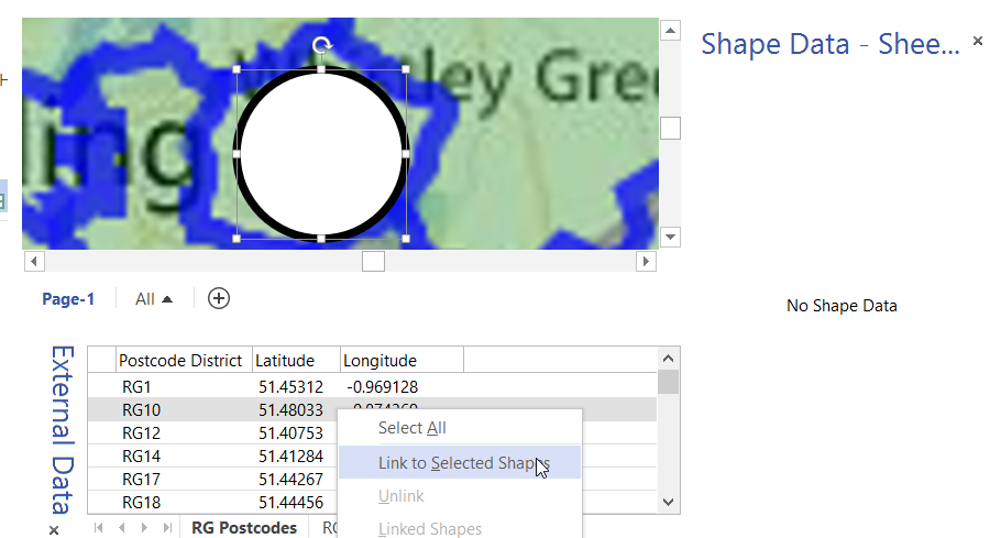 Distributing data points automatically on maps in visio bvisual image gumiabroncs Images