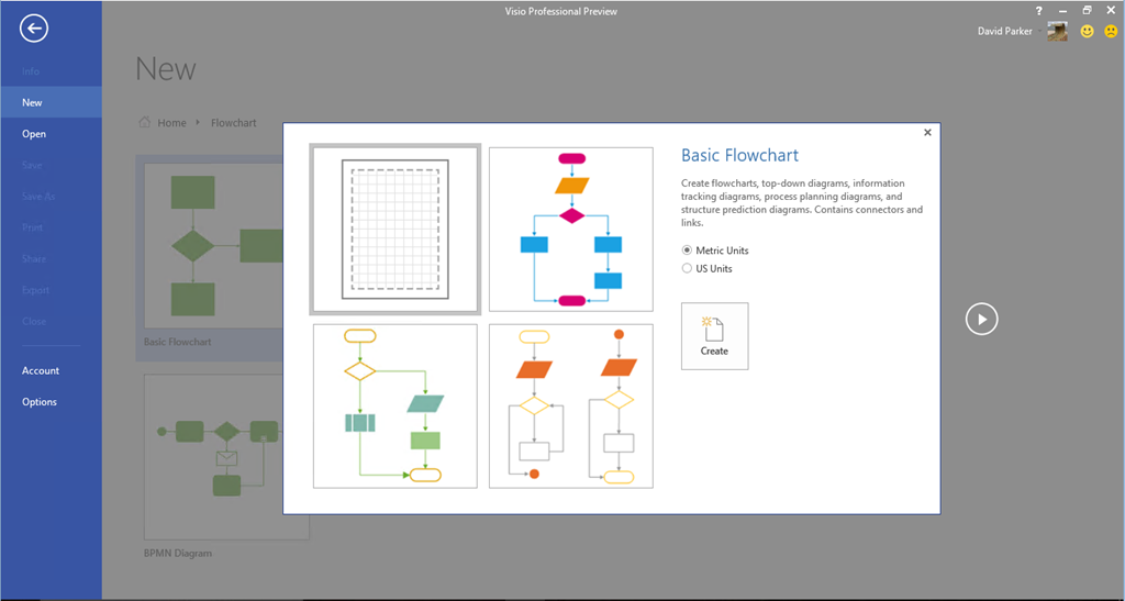 microsoft office diagrams