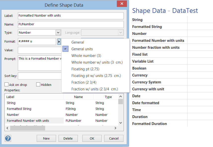 Formatting Shape Data in Visio | bVisual - for people interested in