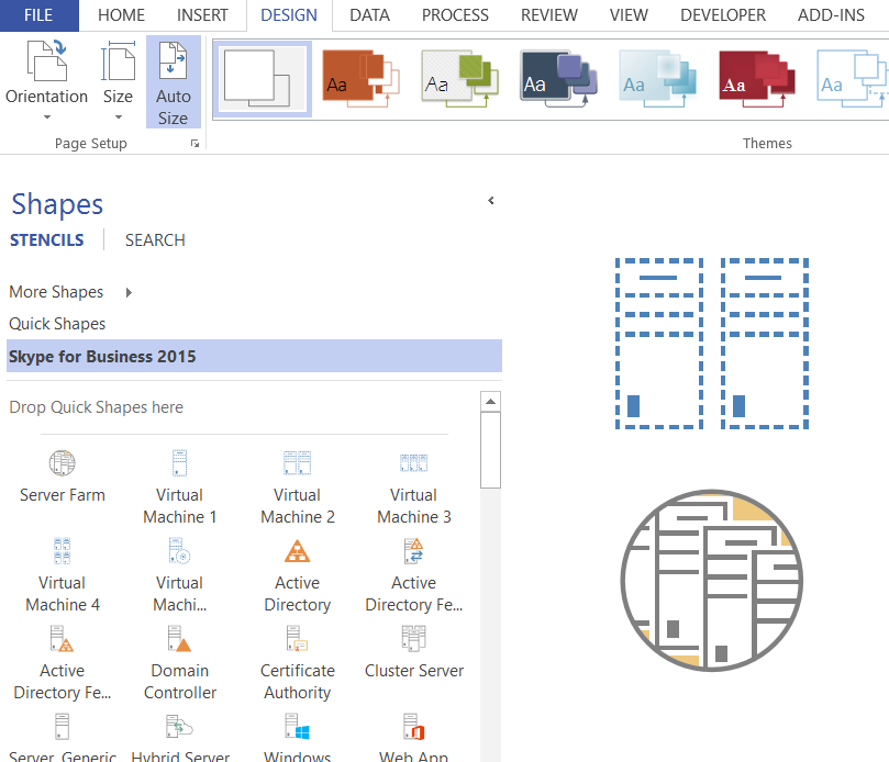 Protecting Shapes from Themes in Visio 2013+ | bVisual - for ...