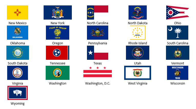 us state flags for visio bvisual   for people interested
