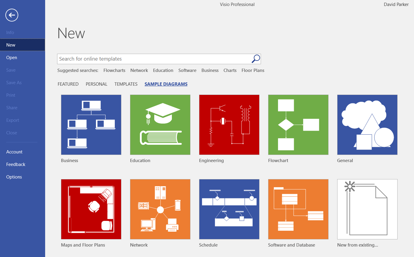 Visio Pro for Office365 Partner Templates | bVisual - for people ...