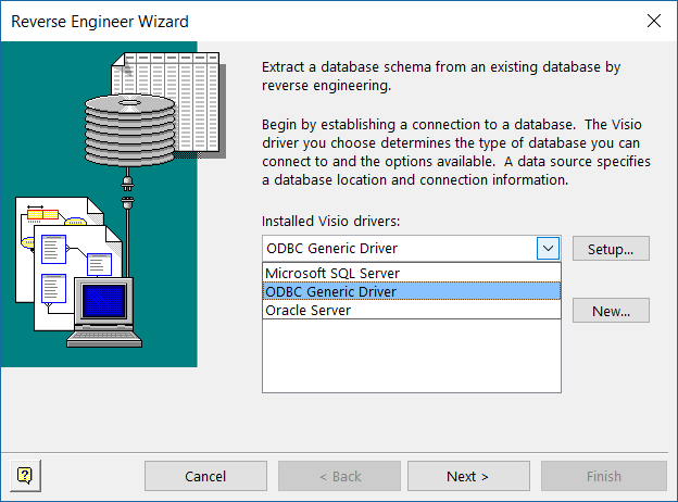 Reverse Engineering SQL Server DBs with Visio Pro DBRE | bVisual ...