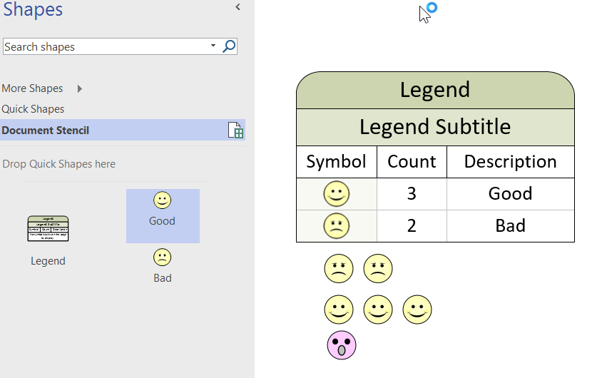 More secrets of the Visio Legend shape | bVisual - for