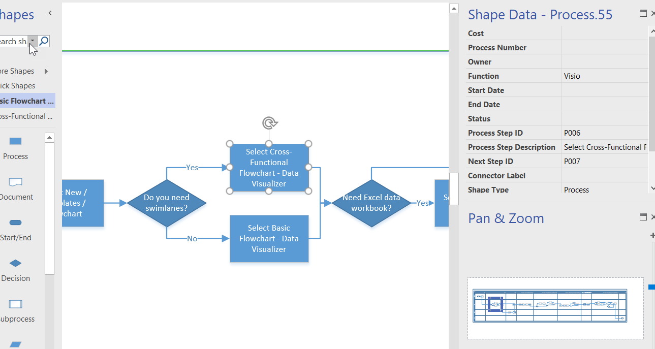 Data visualizer for visio pro for office 365 part 1 bvisual i have create a demo video that walks though the process of creating a diagram from excel using data visualizer for viso pro for office 365 nvjuhfo Image collections