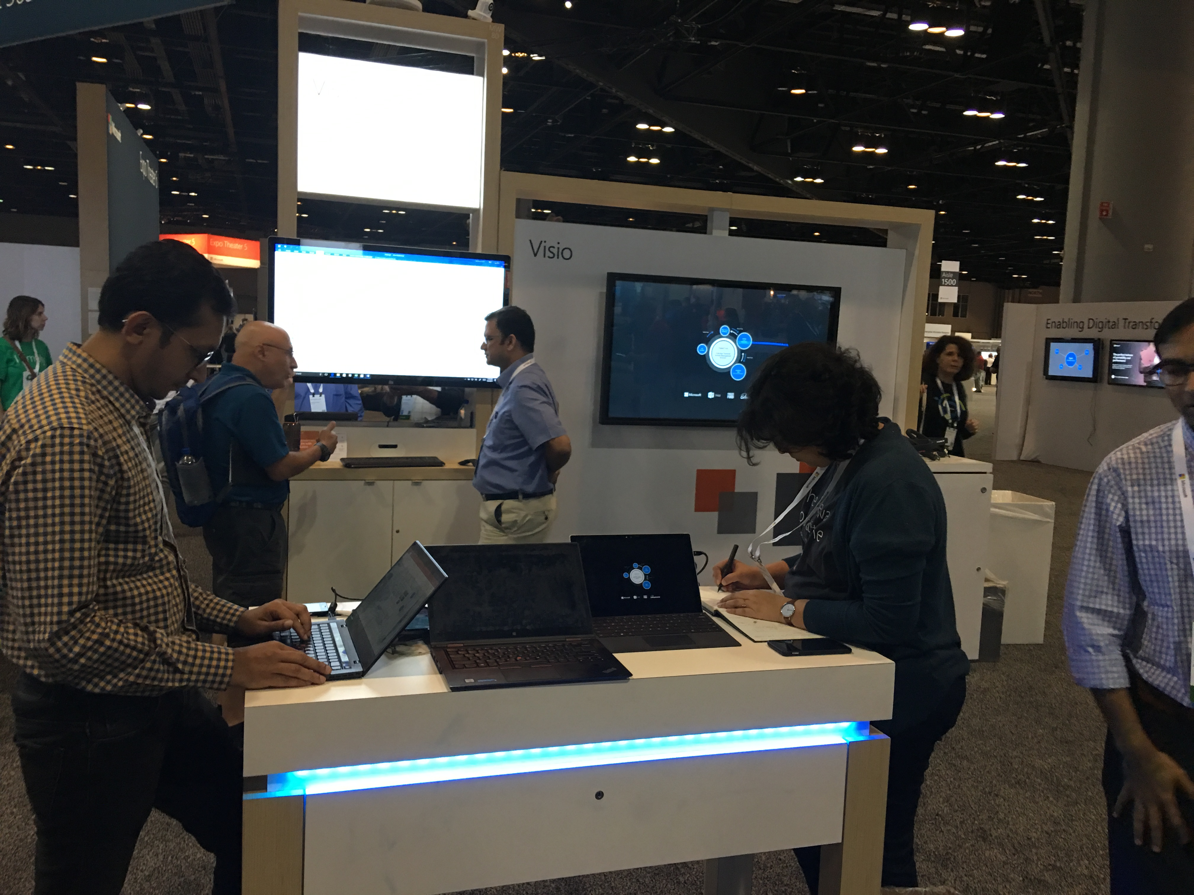 #MSIgnite 2017 Round-Up for #Visio   bVisual - for people interested in  Microsoft Visio
