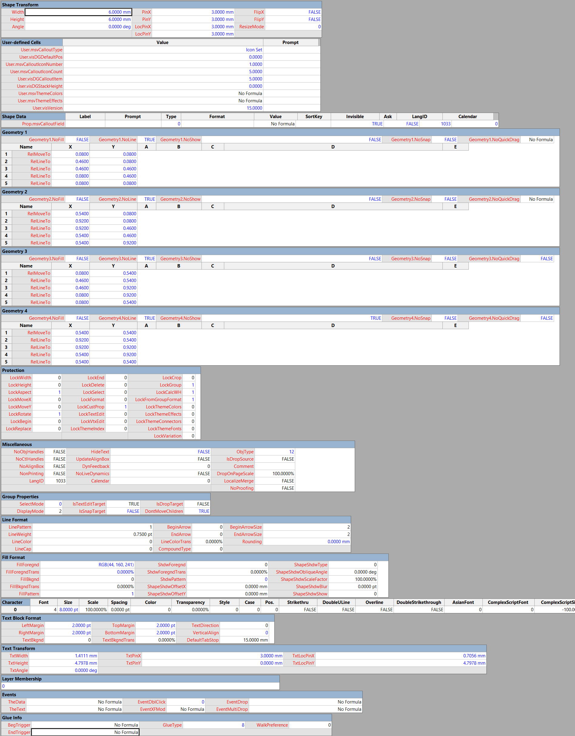 Scroll to Capture #Visio ShapeSheets with #SnagIt | bVisual