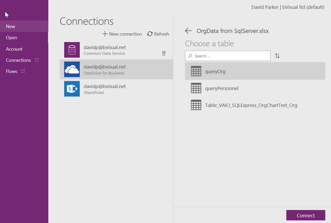 PowerApps in #PowerBI with #Visio!!! | bVisual - for people