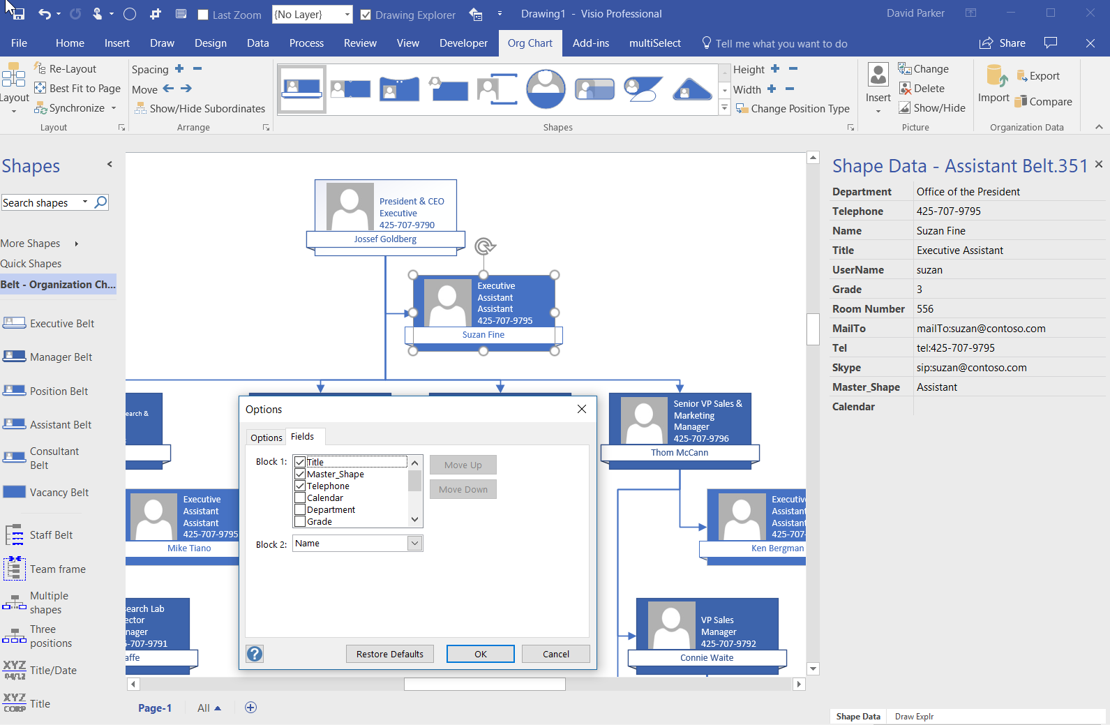 Ogwoptions Bvisual For People Interested In Microsoft Visio