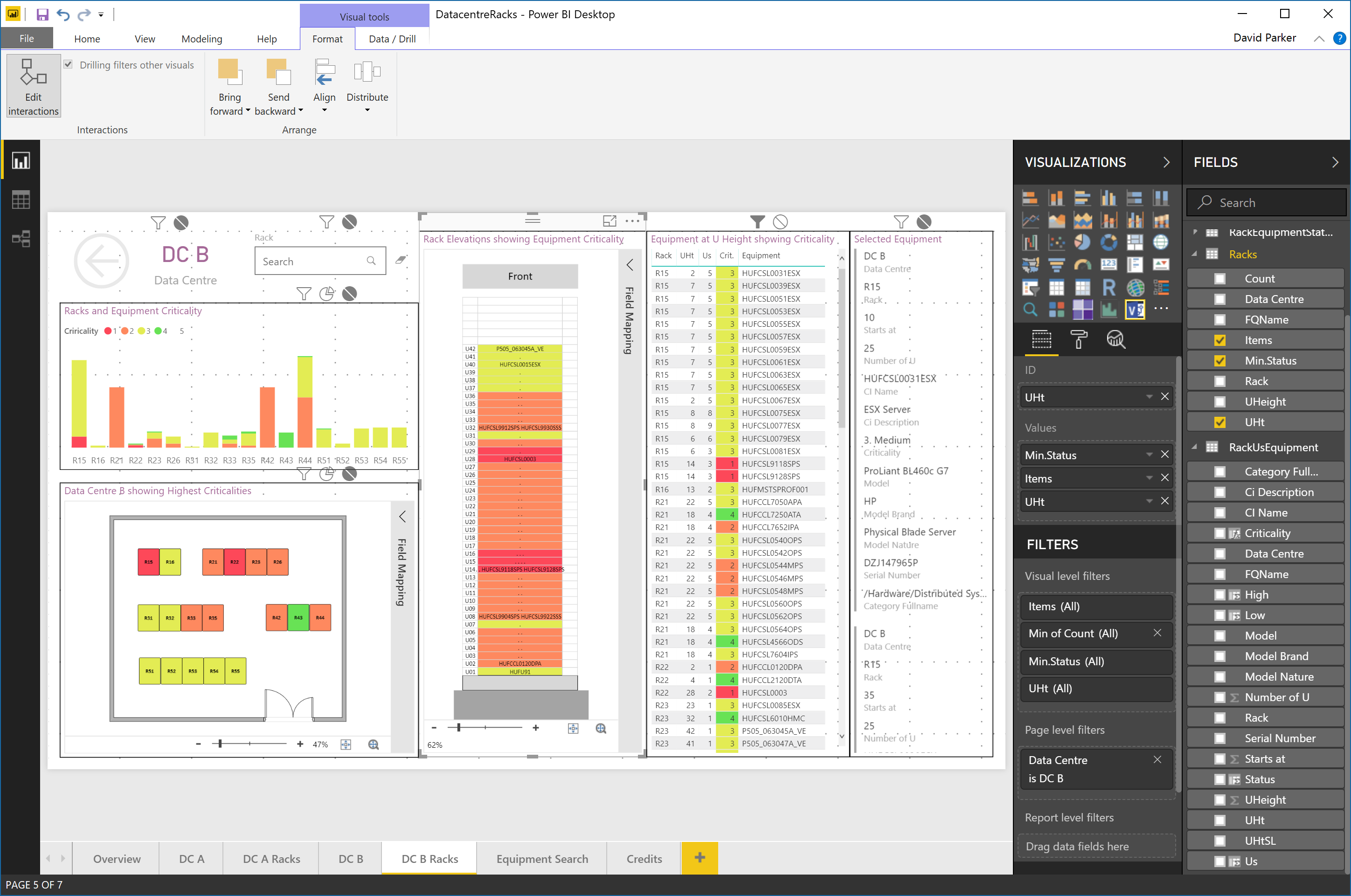 Shape Data   bVisual - for people interested in Microsoft Visio
